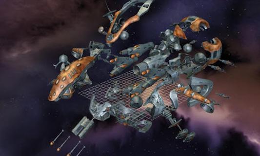 3D飞船拆解安卓版截图