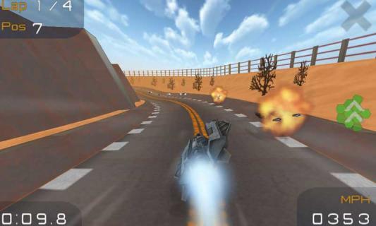 3D超音速飞行游戏截图1