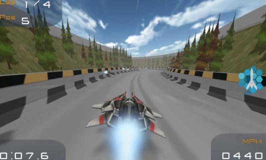 3D超音速飞行游戏截图2