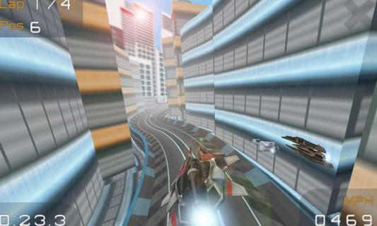 3D超音速飞行游戏截图4