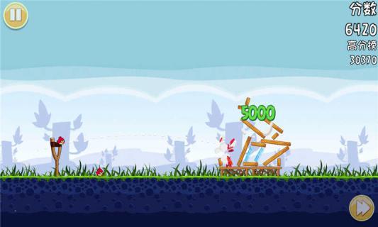 愤怒的小鸟游戏截图5