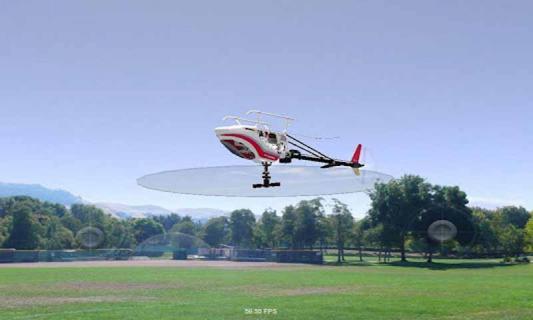 模拟遥控直升机安卓版下载介绍 《模拟遥控直升机 Absolute RC Heli Sim》是一款模拟飞行的小应用,与大多数飞行模拟游戏类似,也是通过虚拟摇杆来进行操作,游戏包含多种控制模式,视角也可以进行调整。需要注意的是,一旦飞机翻过来坠落到地面,就无法继续游戏,只能重置。喜欢飞行游戏的朋友不要错过了!
