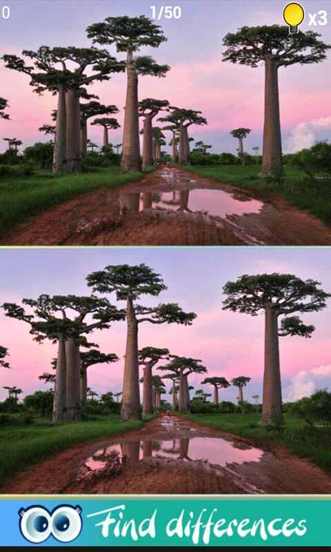 风景找不同游戏截图2