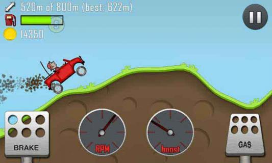 爬山赛车游戏截图1
