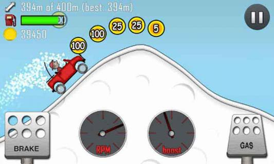 爬山赛车游戏截图3
