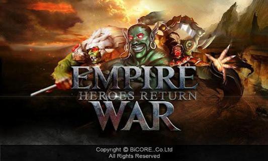 帝国战争之英雄回归安卓版截图