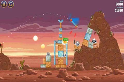 愤怒的小鸟星球大战游戏截图2