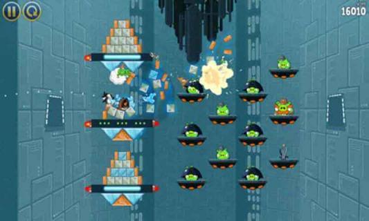 愤怒的小鸟星球大战游戏截图3