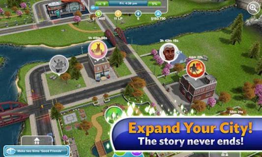 模拟人生:自由行动游戏截图5