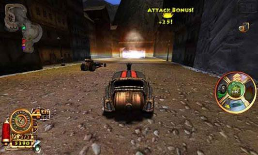 蒸汽朋克赛车游戏截图2