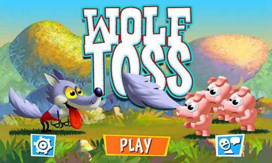 大灰狼与三只小猪