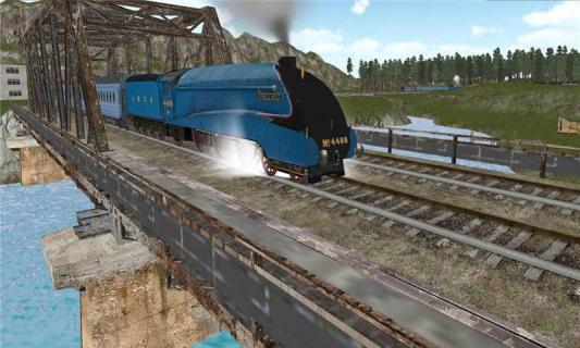 3D模拟火车游戏截图3