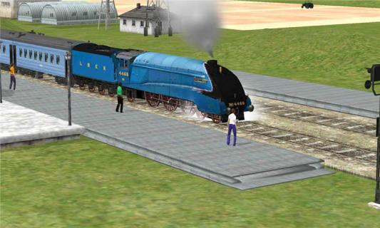 3D模拟火车游戏截图4