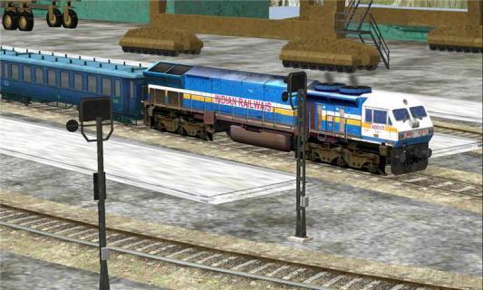 3D模拟火车游戏截图5