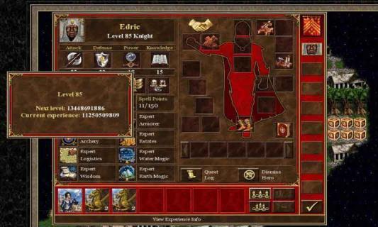 英雄无敌3死亡阴影游戏截图2