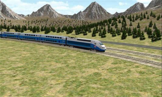 3D模拟火车游戏截图2