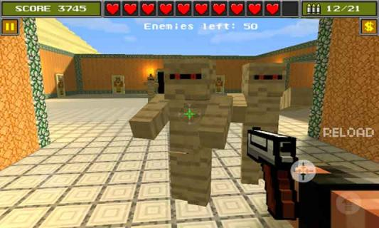 3D像素射击游戏截图2