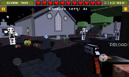 3D像素射击游戏截图1