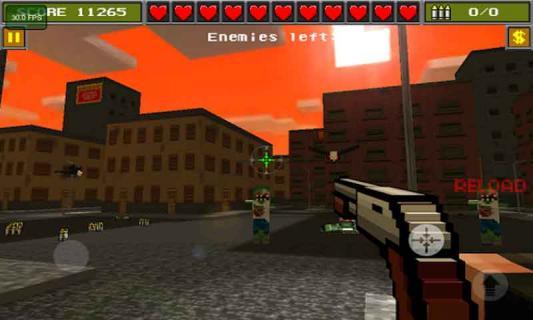 3D像素射击游戏截图3