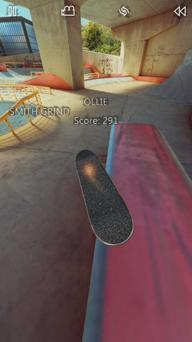 真实滑板游戏截图3