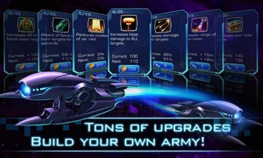 银河塔防游戏截图3