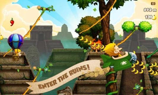 猴子香蕉游戏截图1