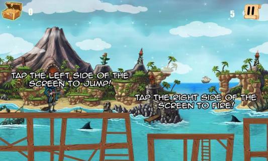 海盗幽灵岛游戏截图2