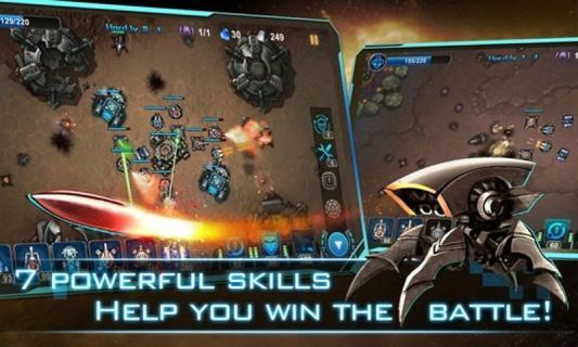 银河塔防游戏截图5