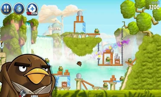 愤怒的小鸟:星球大战2游戏截图4