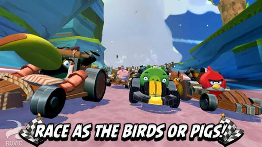 愤怒的小鸟Go游戏截图1