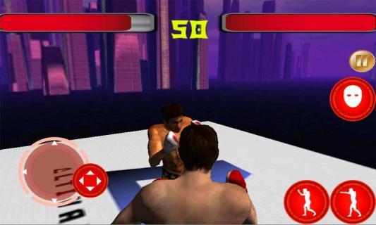 拳击街头霸王图片
