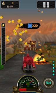 3D暴力飞车安卓版截图