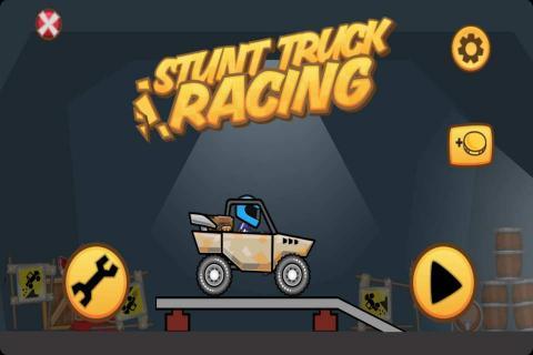 特技卡车赛车图片