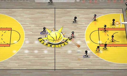 火柴人篮球游戏截图3