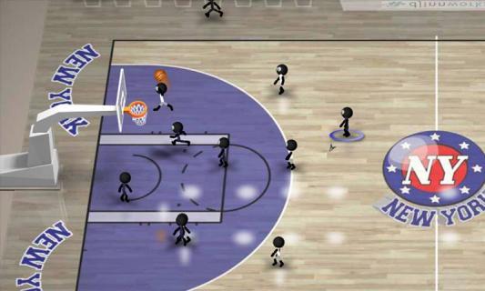 火柴人篮球游戏截图4