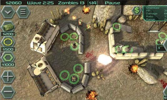 抵御僵尸游戏截图5