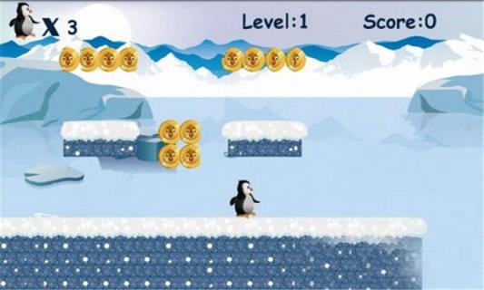 跳跃的企鹅游戏截图2