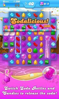 糖果粉碎苏打传奇游戏截图3