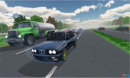 高速公路赛车手游戏截图2
