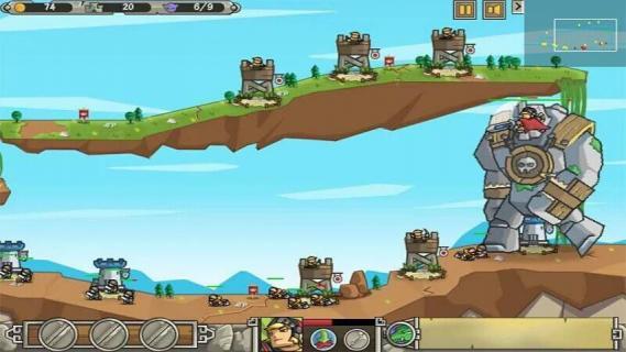 矮人大战巨人游戏截图2