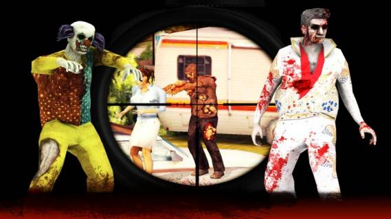 僵尸猎人死者之战游戏截图3