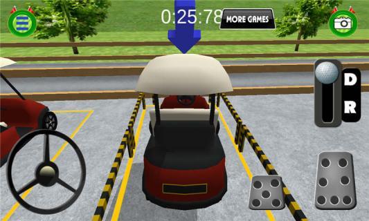 高尔夫公园模拟驾驶游戏截图4