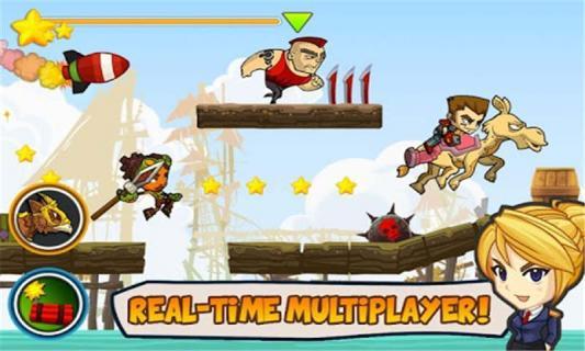 超级酷跑战士游戏截图4