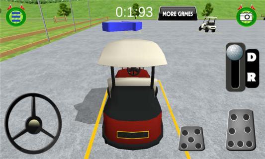 高尔夫公园模拟驾驶游戏截图3