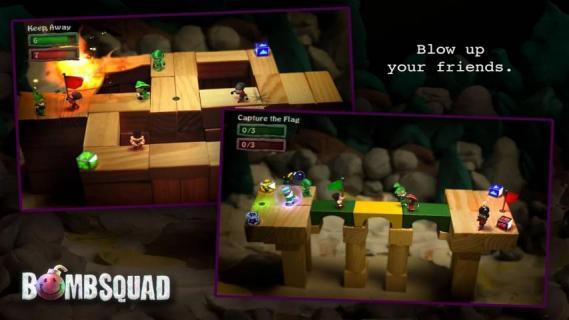 炸弹小分队游戏截图1