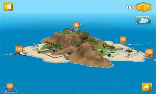 乐高创意百变岛图片