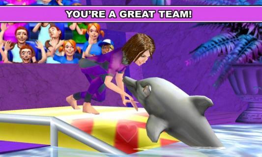 我的海豚秀游戏截图3