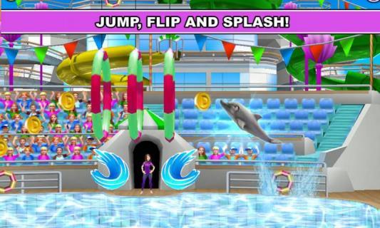 我的海豚秀游戏截图2