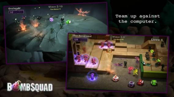 炸弹小分队游戏截图2