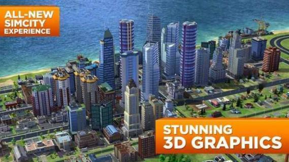 模拟城市建设游戏截图1